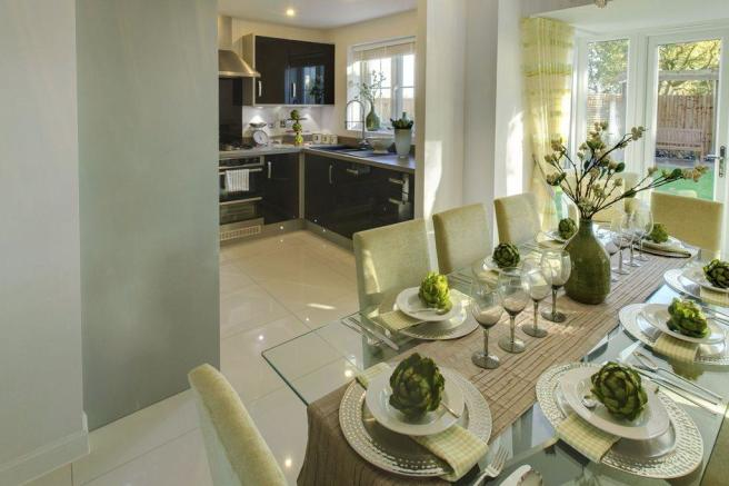 Four bedrrom Somerton Show Home