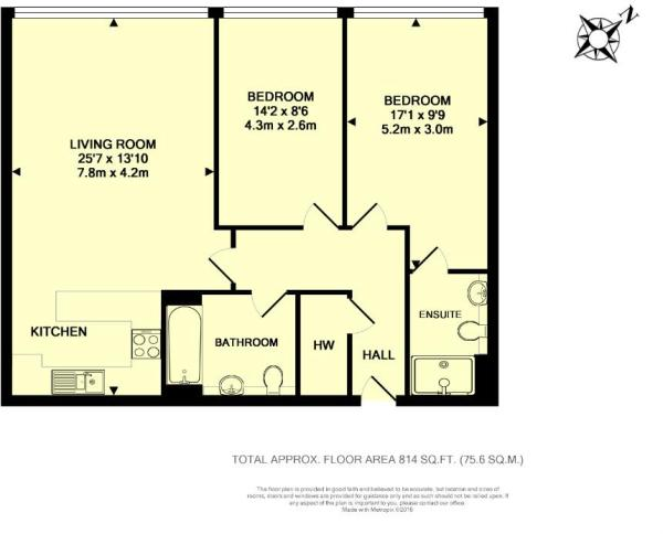 Floor Plan - Unit 26