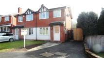 semi detached home in Dickinson Drive, Walmley