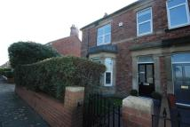 semi detached house in Bede Burn Road, Jarrow