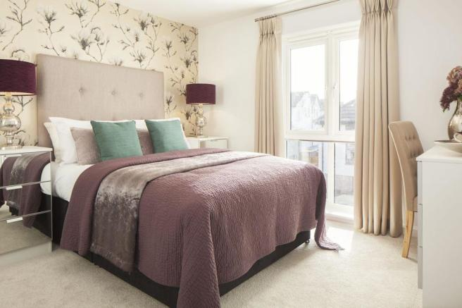 2 bedroom apartments by Hooe Lake in Plymouth, Devon