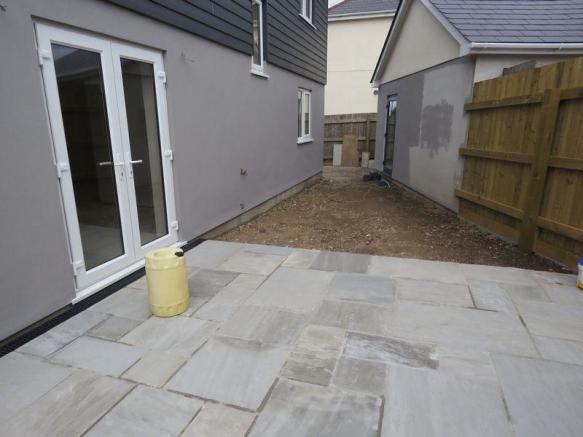 Rear Patio and...