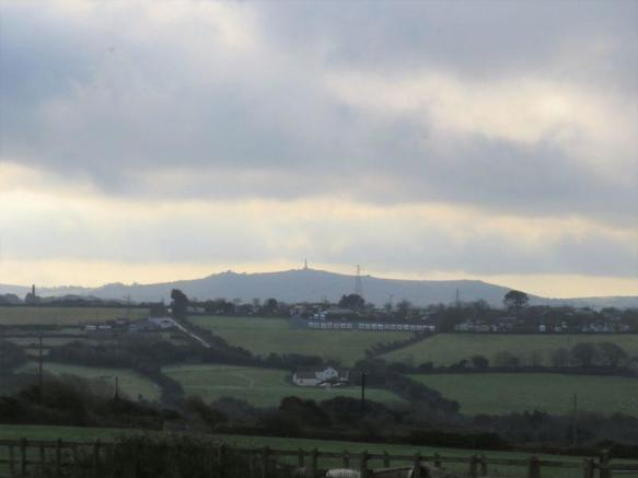 View of Carn Brea