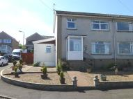 semi detached home for sale in Argyle Road, Gourock...