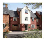 6 bed new property for sale in Rugby Gateway Rugby...