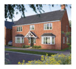 4 bed new property in Ivel Road Shefford...
