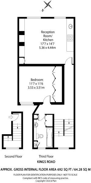 Floor plan of the Ki