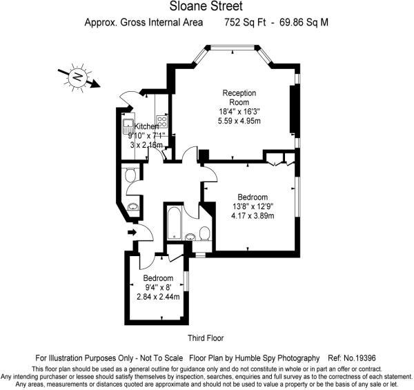 Floor plan Sloane St