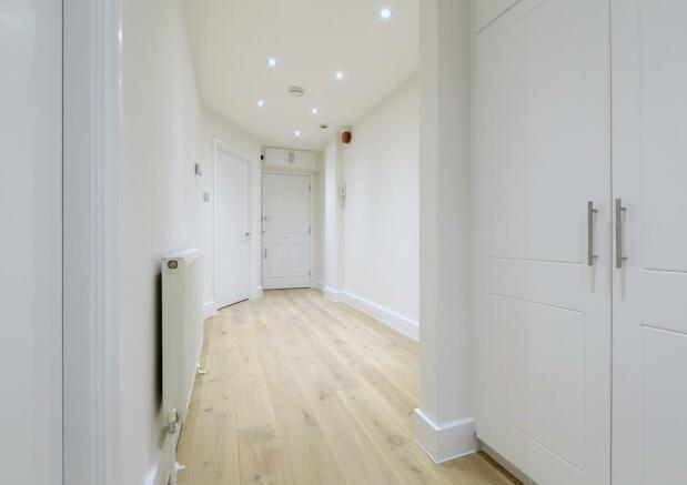 Hall with storage