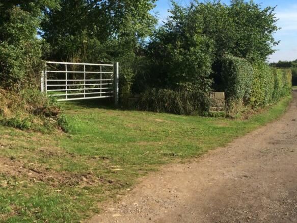 Rear Gate Barn Acces