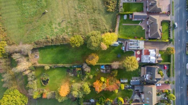 Aerial Plot Photo