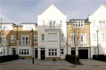 Terraced house in Emerald Square, London...