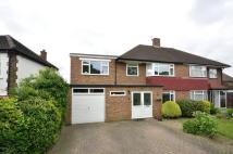 4 bed house in Chandos Avenue...