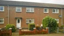 3 bed Terraced house in Rannoch Court, Stirling
