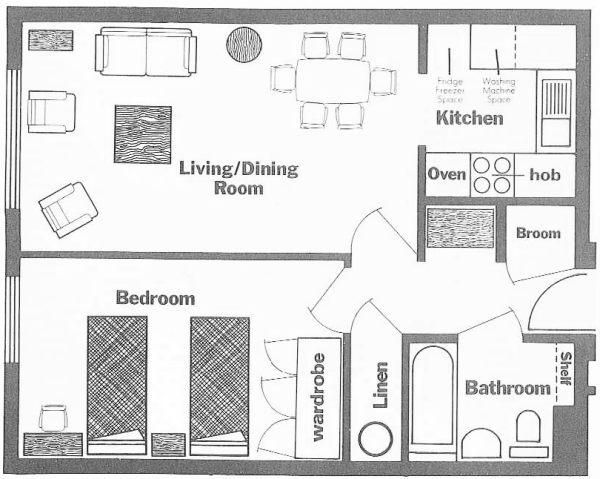Beech Lodge  Plan