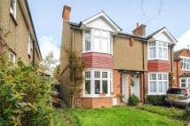 3 bed semi detached home in Dickinson Avenue...