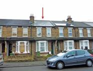 Terraced house in South Gipsy Road...