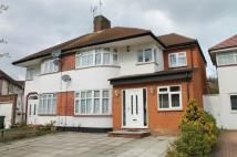 semi detached home for sale in St Edmunds Drive...