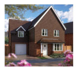 4 bedroom new house in Langshott Lane, Horley...