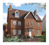 6 bed new home in Langshott Lane, Horley...