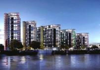 3 bed new property in Riverlight Four, London...