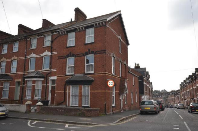 6 bedroom end of terrace house to rent in union road for Terrace exeter