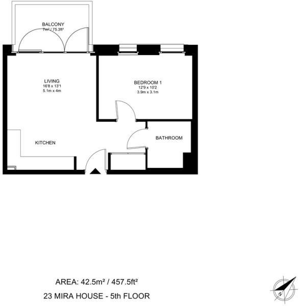23 Mira House Floorp