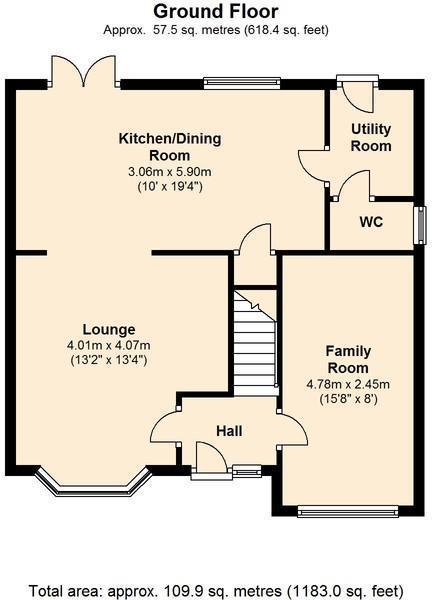 Terrys way floorplan