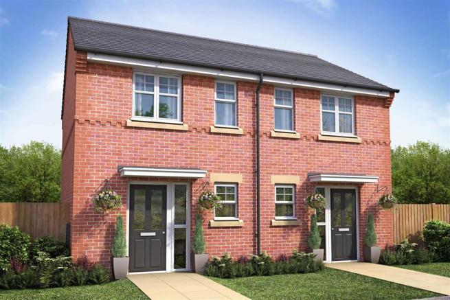 Artist Impression of The Appleford at Booth Hall (Brick Version)