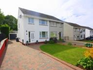 3 bed semi detached home for sale in Shelley Drive, Bothwell...