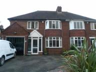semi detached property in Darnick Road...
