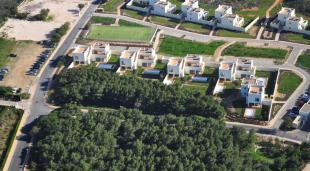 Layout of complex of villas