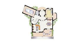 Floor plan, 1st floor