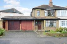 3 bedroom semi detached house for sale in Fieldsend Road, Cheam...