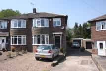 3 bedroom semi detached house in Meadow Close, Dronfield...