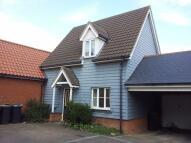 semi detached house in Woodlark Drive...