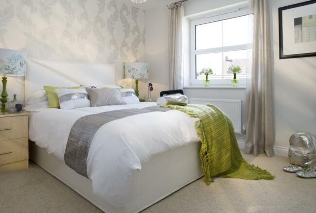 Fulmar second bedroom