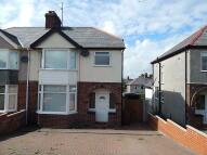 3 bed semi detached home in Bangor, Gwynedd...