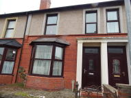 3 bed Terraced house in Orme Road, Bangor...