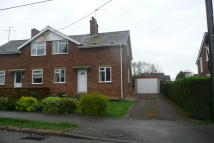 2 bed semi detached house in Edgar Avenue, Stowmarket...