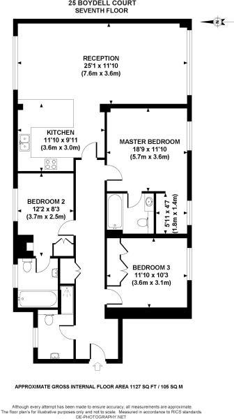 25 BC floor plan