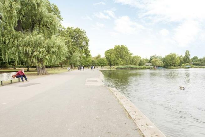 Regents Park Lake 3