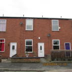 Terraced house in Moorside Lane, Denton...