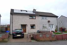 semi detached home for sale in Burns Road, Greenock...
