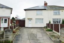 2 bed semi detached home in Woden Crescent...