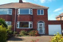 3 bedroom semi detached home in Derwent Road...