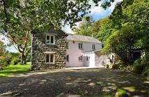 3 bed Detached house for sale in Tan Lon, Criccieth...
