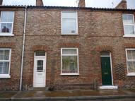 Terraced house in Herbert Street, York...