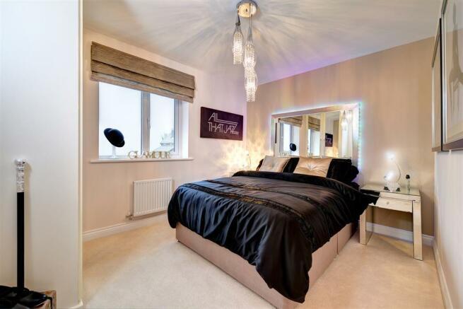 Image shows Lavenham show home, West Park