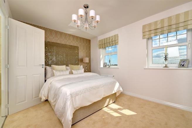 Image shows Eynsham show home, The Maples